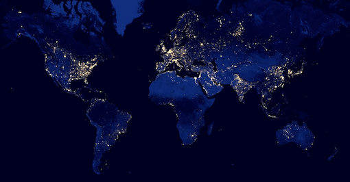 World Light Pollution.png
